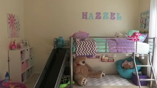 One of HayleeAndFamily's most viewed videos: TODDLER ROOM REVEAL & REACTION!