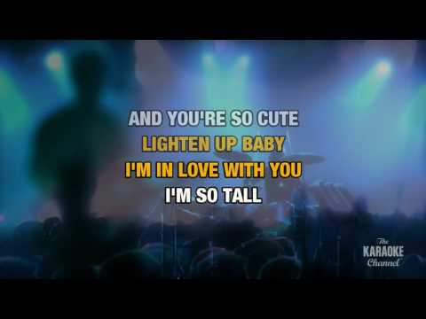 Tall Cool One in the style of Robert Plant | Karaoke with Lyrics