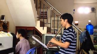 [DEMO] Hòa tấu Thánh ca - Dâng Mẹ | Cover Tiêu, Piano