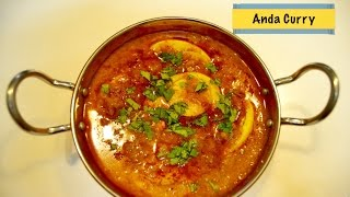 Dhaba Style Anda Curry or Egg Curry By Tastebeat