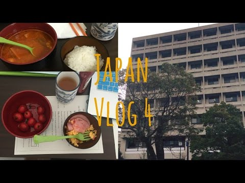 Study Abroad | Japan Vlog | Ep.4 First Day of School + Cooking (?) Dinner!