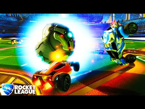 HikePlays: Rocket League - Try-Harding and Goofing Around - Rocket League