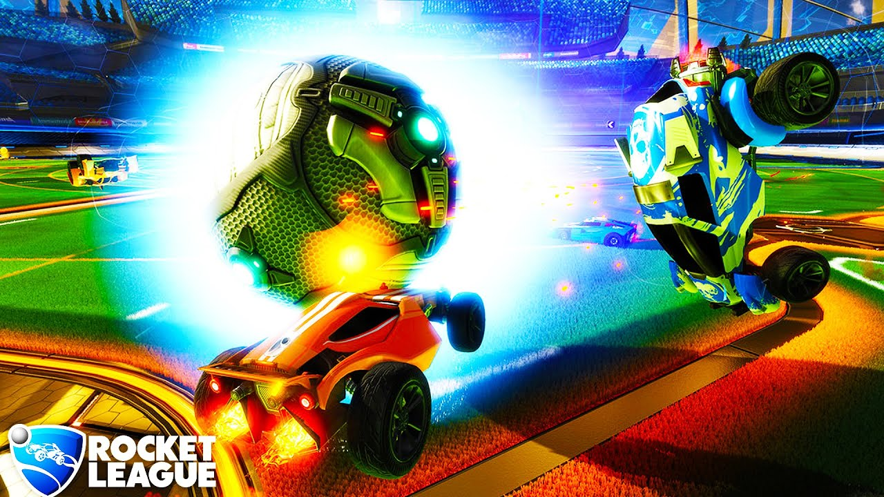 rocket league how to look around