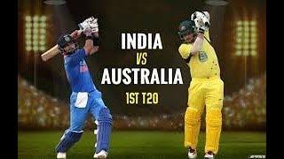 Live: IND Vs Aus 1st T-20 | Live Scores | 2018