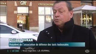 Les taxis demandent l'interdiction d'Uber Pop en France