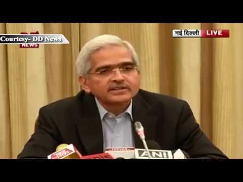 Economic affairs secretary Shaktikanta Das Addresses  to Media