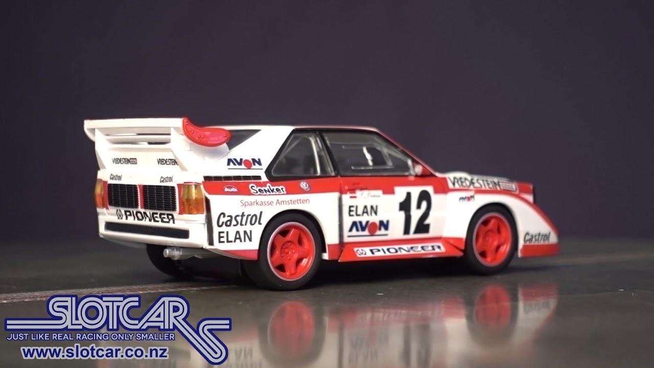 Scalextric Slot Car Audi Sport Quattro E2 #12 DPR Slotcar C3750