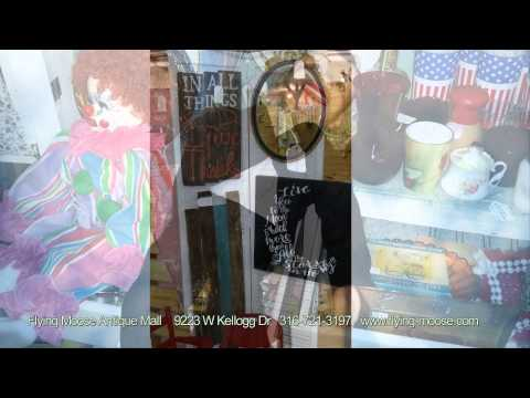 Flying Moose Antique Mall Christmas Sale 2014