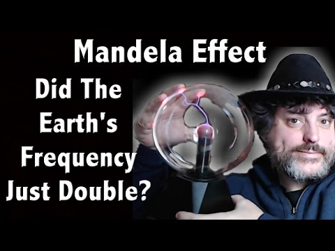 Did The Earth's Frequency Just Double?  Is the Schumann Resonance Increasing Because Of The ME?
