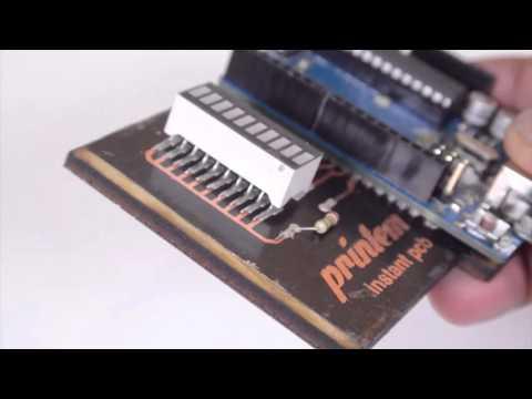 Printem: Instant Printed Circuit Boards