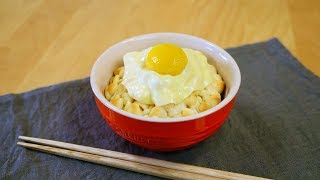 Trick Recipes : Eggs over Rice Bread なんちゃって卵かけご飯パン