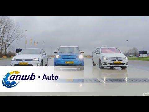 Mercedes B-Klasse Electric Drive, Volkswagen e-Golf & Kia Soul EV autotest - ANWB Auto