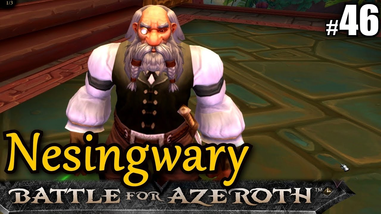 Wow Bfa 46 Nesingwary In Zandalar Lets Play Wow Battle For Azeroth Gameplay German
