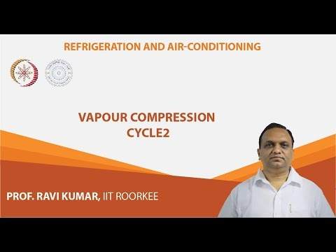 Lecture 8: Vapour Compression Cycle - 2