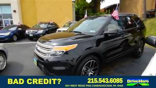 2012 Ford Explorer, 100% Application Review Policy