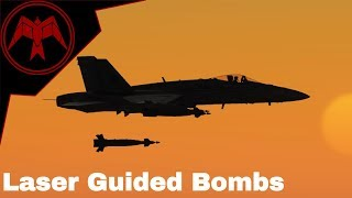 DCS F/A-18C Hornet Laser Guided Bomb Tutorial