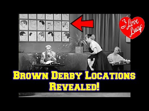 BEFORE & AFTER--I Love Lucy-The Brown Derby Location Revealed! How Does It Look NOW?