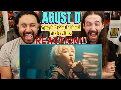 "AGUST D   ""Agust D"" Music Video - REACTION!!!"