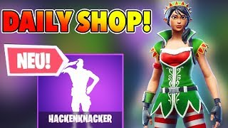 Mistletoe Christmas skin Today at Fortnite Daily Shop Allemand 21.12