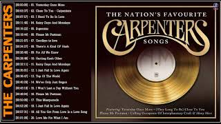 Carpenters Greatest Hits Album - Best Songs Of The Carpenters Playlist 2021