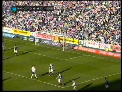 Rangers 3 V 0 Dundee April 30th 2000