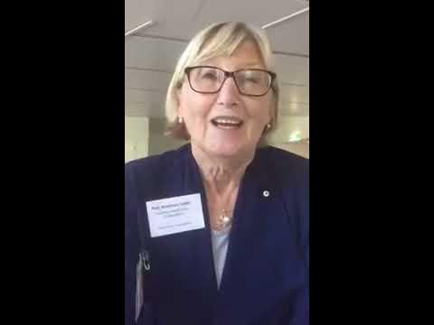 Professor Rosemary Calder at the #alphealthsummit