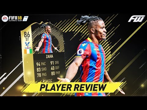 FIFA 18 SIF ZAHA Player Review (86) THE KING OF SWEAT IS UNREAL!