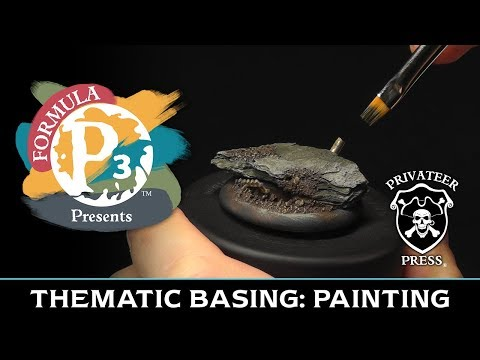 Formula P3 Presents: Thematic Basing - Painting