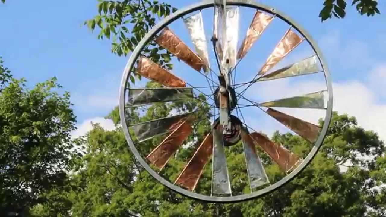 Go Gators Bicycle Wheel Folk Art Windmill Gator Head