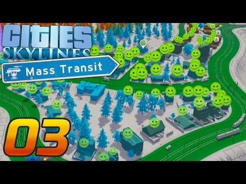 Wir haben GROSSE Pläne... | Lets Play Cities: Skylines #03 | Valle