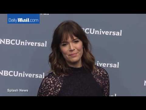 Mandy Moore always the cutest at the NBC Universal red carpet