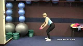 How To Teach Preschool Fitness: Preschool Activities Using Scarves