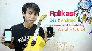 Aplikasi HP cocok untuk Stem Gitarlele dan Urutan Nadanya