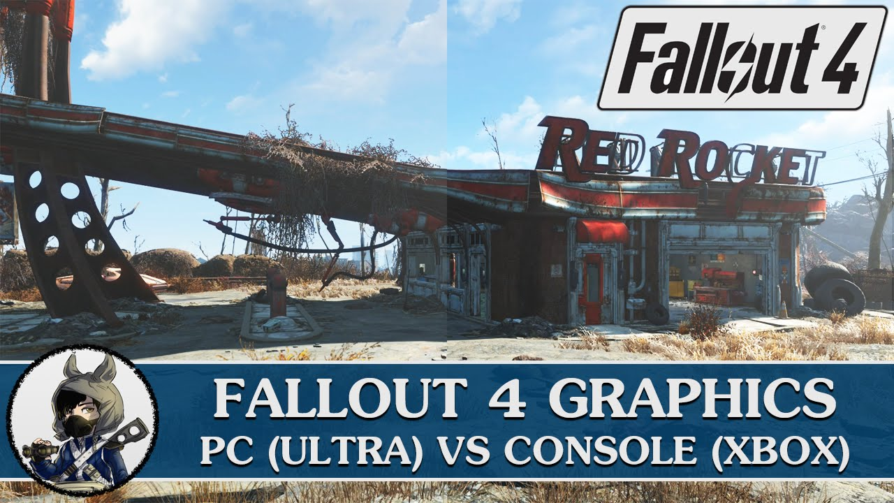 Fallout 4 pc vs console graphics comparison youtube - What consoles will fallout 4 be on ...