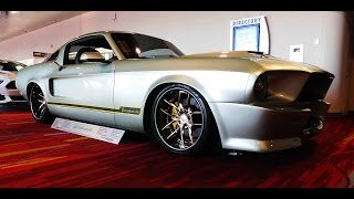 "1967 Ford Mustang Street Machine ""Tomahawk"" The SEMA Show 2016"