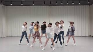 mirrored fromis_9 DKDK Choreography ver