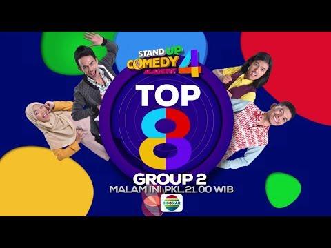 Lanjut Lageh! Saksikan Stand Up Comedy Academy 4 Top 8 Group 2 - 15 Oktober 2018