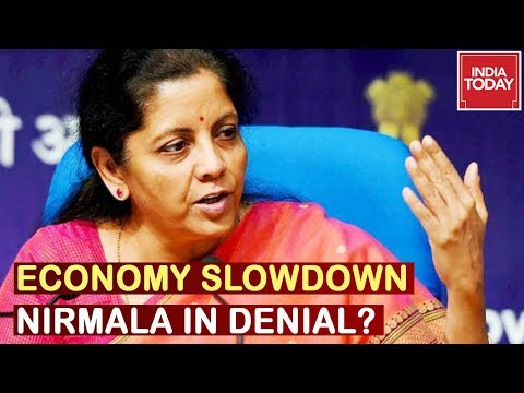Nirmala Sitharaman Refuses To Answer Questions On Economic Slowdown