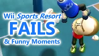 Wii Sports Resort FAILS & Funny Moments