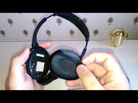 Replacing Ear Cushions on Bose QC3 Headphones