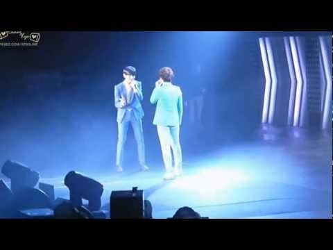 120520 SMT LA - Changmin & Kyuhyun Duet Just the Way You Are
