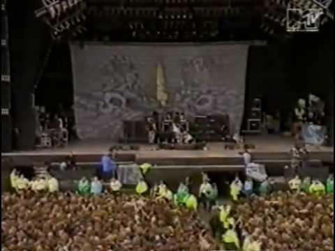 sepultura live at Monsters of Rock, Castle Donington Raceway - 04.06.1994