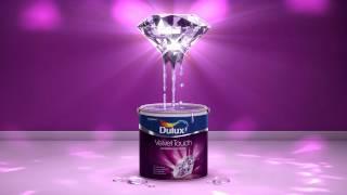 Dulux Velvet Touch Diamond Glo Youtube