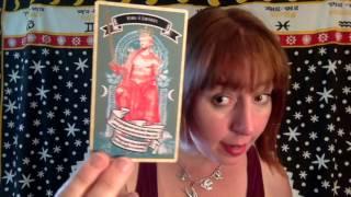 Unboxing Madam Clara's Fortune Telling cards