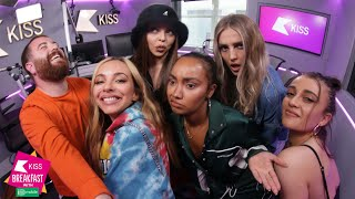 Little Mix chat new LM6 songs, an Ariana Grande collaboration, and waxworks! 💅 #BounceBack