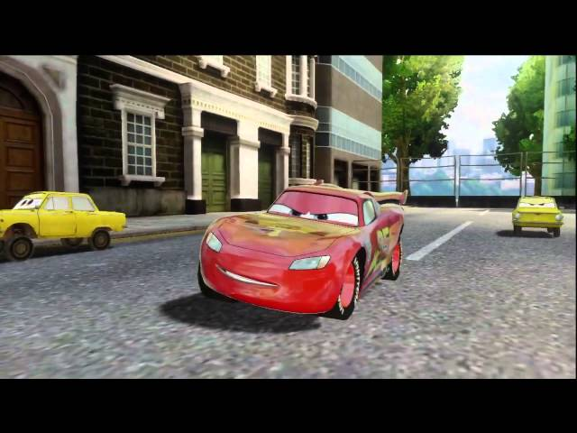 Cars 2 HD Gameplay Compilation Travel Video