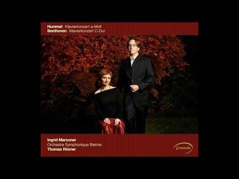 Hummel Piano Concerto Op.85, II - Ingrid Marsoner, Thomas Rösner, Orchestre Symphonique Bienne