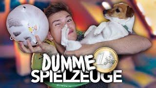 DUMME 1 EURO SPIELZEUGE IM TEST mit Hund | Joey