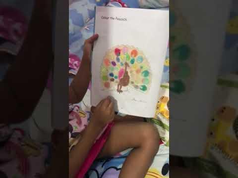Mewarnai Burung Merak Part 1 Edisibelajarrania Youtube