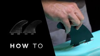BOTE: How to Install Side Fins